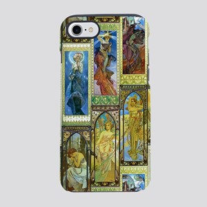Mucha's Night and Day iPhone 7 Tough Case
