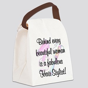 SUPER STAR STYLIST Canvas Lunch Bag