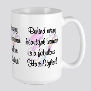 SUPER STAR STYLIST Large Mug