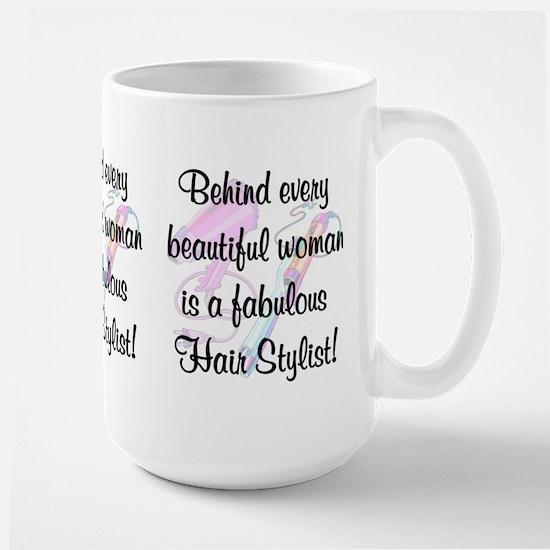 SUPER STAR STYLIST Large Mug