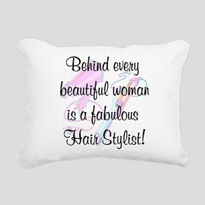 SUPER STAR STYLIST Rectangular Canvas Pillow