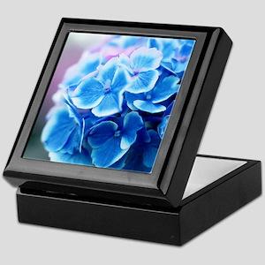 Blue Hydrangeas Keepsake Box