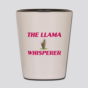 The Llama Whisperer Shot Glass