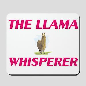 The Llama Whisperer Mousepad