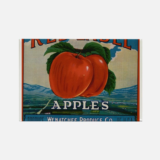 Vintage Fruit Vegetable Crate Label Magnets