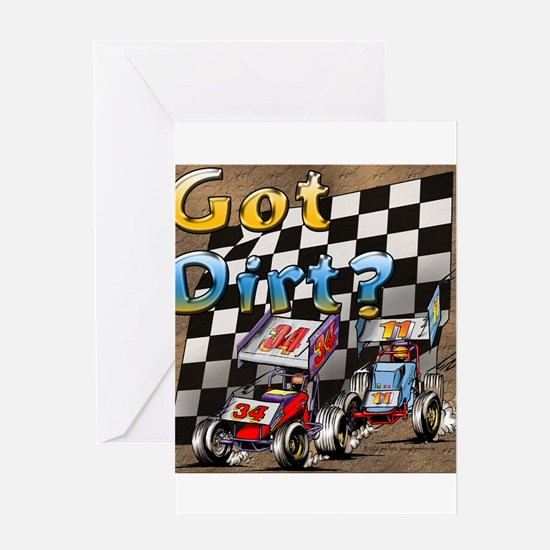"""Got Dirt?"" Greeting Cards"