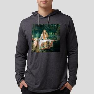 Waterhouse: Lady of Shalott Mens Hooded Shirt