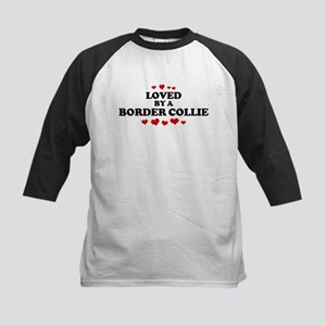 Loved: Border Collie Kids Baseball Jersey