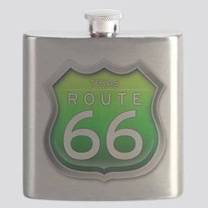 Texas Route 66 - Green Flask
