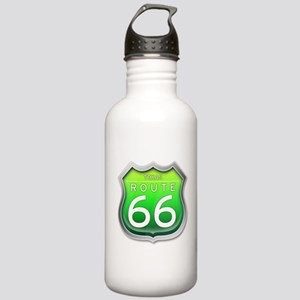 Texas Route 66 - Green Water Bottle