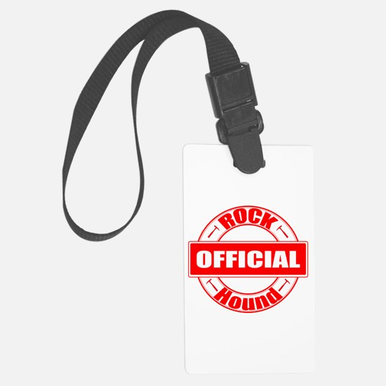 Official Rock Hound Luggage Tag