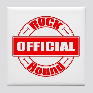 Official Rock Hound Tile Coaster