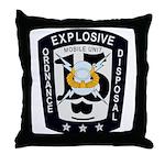 EOD Mobile Unit 15 Throw Pillow