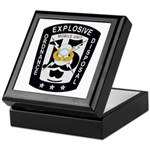 EOD Mobile Unit 15 Keepsake Box