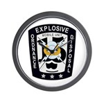 EOD Mobile Unit 15 Wall Clock