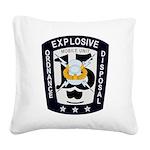 EOD Mobile Unit 15 Square Canvas Pillow
