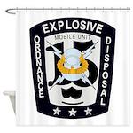 EOD Mobile Unit 15 Shower Curtain