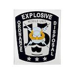 EOD Mobile Unit 15 Throw Blanket
