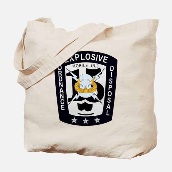 EOD Mobile Unit 15 Tote Bag