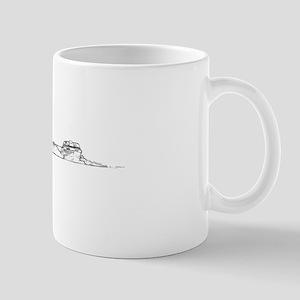 Skier & Boat Mug