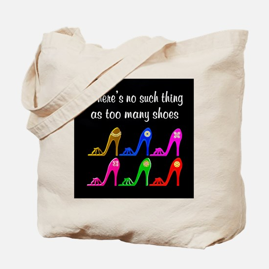 SIZZLING SHOES Tote Bag