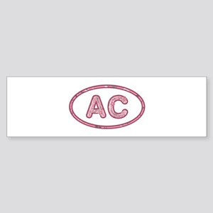 AC Pink Bumper Sticker