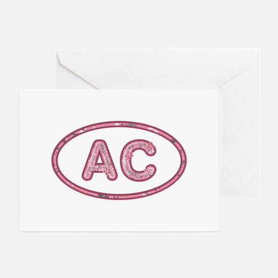 AC Pink Greeting Card
