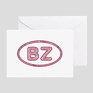 BZ Pink Greeting Card