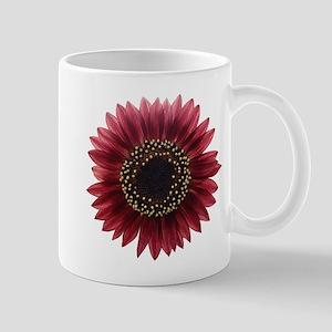 Ruby sunflower Mugs