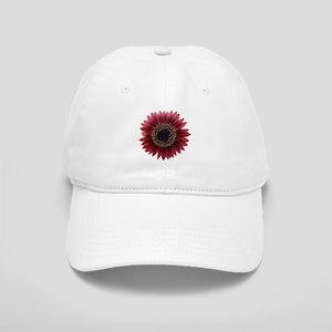 Ruby sunflower Baseball Cap