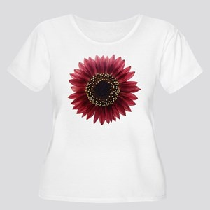 Ruby sunflower Plus Size T-Shirt