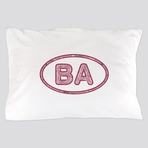 BA Pink Pillow Case