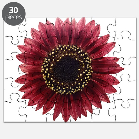 Ruby sunflower Puzzle