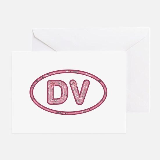 DV Pink Greeting Card