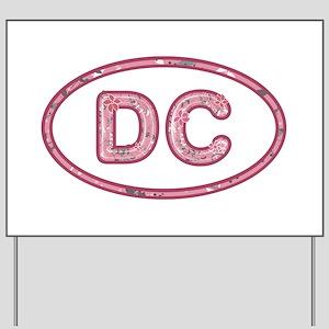 DC Pink Yard Sign