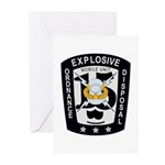 EOD Mobile Unit 15 Greeting Cards