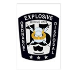 EOD Mobile Unit 15 Postcards (Package of 8)