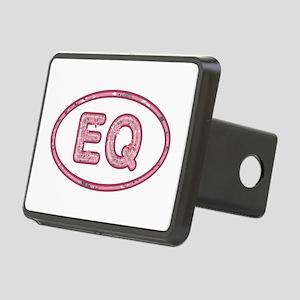 EQ Pink Rectangular Hitch Cover