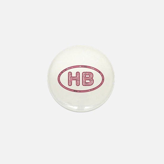 HB Pink Mini Button