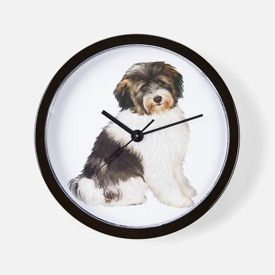 Tibetan Terrier (W) Wall Clock