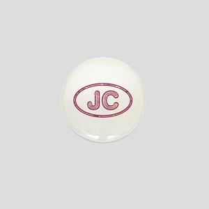 JC Pink Mini Button