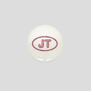 JT Pink Mini Button