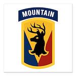 86th Infantry BCT Square Car Magnet 3