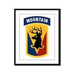 86th Infantry BCT Framed Panel Print