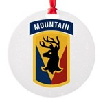 86th Infantry BCT Round Ornament