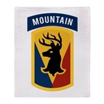 86th Infantry BCT Throw Blanket
