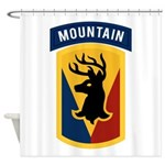 86th Infantry BCT Shower Curtain
