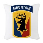 86th Infantry BCT Woven Throw Pillow