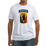 86th Infantry BCT Fitted T-Shirt