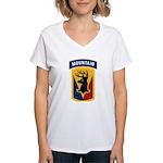 86th Infantry BCT Women's V-Neck T-Shirt